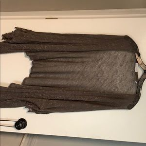 Slate woven cardigan from buckle